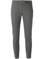 Dondup Front Pocket Slim Fit Trousers Grey