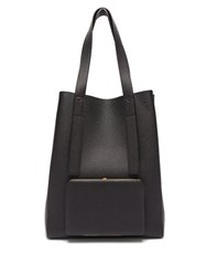 Lutz Morris Seveny Grained Leather Tote Bag Black