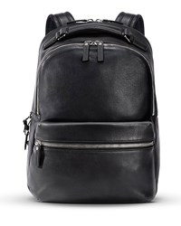 Runwell Leather Backpack Navy Shinola