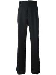 Givenchy Hook And Loop Strap Trousers Black