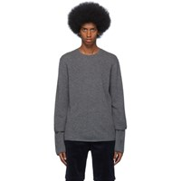 Comme Des Garcons Shirt Grey Gauge 12 Layered Sweater