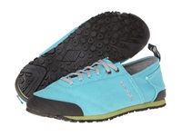 Evolv Cruzer Turquoise 1 Women's Lace Up Casual Shoes Blue