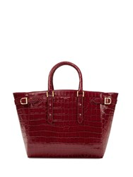 Aspinal Of London Marylebone Tote Red