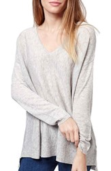 Women's Topshop Slouchy V Neck Sweater