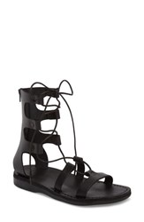 Jerusalem Sandals Rebecca Sandal Black Leather