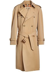 Burberry The Long Chelsea Heritage Trench Coat Nude And Neutrals