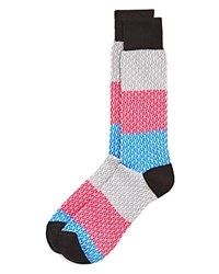 Bloomingdale's The Men's Store At Chain Rows Socks 100 Exclusive Black