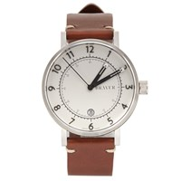 Bravur Watches Bw001 White Dial Watch