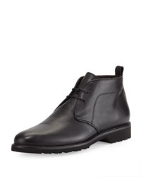 Bruno Magli Wender Leather Chukka Boot Black