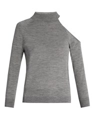 Osman Maya Wool Sweater Grey