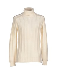 Gran Sasso Knitwear Turtlenecks Men Ivory