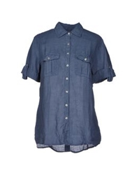 Robert Friedman Shirts Slate Blue