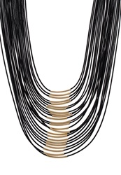 Sweet Deluxe Liv Necklace Gold Black