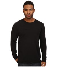 Brixton Pittsburgh Crew Fleece Black Men's Fleece