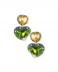 Margot Mckinney Jewelry Hearts Desire South Sea Pearl And Peridot Drop Earrings