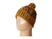 The North Face Fair Isle Pom Beanie Coffee Bean Brown Beanies