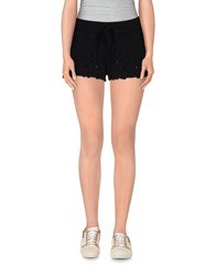 Odi Et Amo Trousers Shorts Women Black