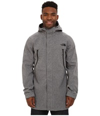 The North Face Apex Bionic Trench Coat Graphite Grey Heather Men's Coat Gray