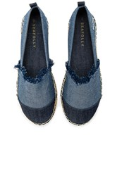 Seafolly Walk About Espadrille Navy