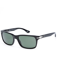 Persol Eyewear Persol 3048S Slim Aviator Sunglasses Black