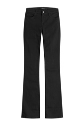 J Brand Jeans Mid Rise Boot Cut Jeans Black