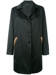 Etro Embroidered Pocket Coat Black