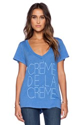 Local Celebrity Creme De La Creme Jovi Tee Blue