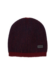 Gucci Ribbed Knit Cashmere Beanie Hat