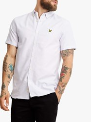 Lyle And Scott Short Sleeve Oxford Shirt Lilac