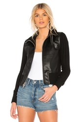 Bailey 44 9Th Of July Eco Leather Jacket Black
