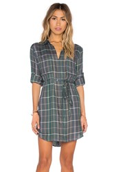 Candc California Noho Dress Green