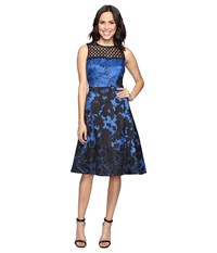 Rsvp Ardmore Dress Black Blue Women's Dress