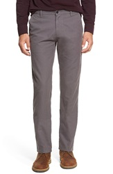 Apolis 'Utility' Slim Fit Chinos Grey