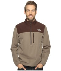 The North Face Apex Nimble Pullover Falcon Brown Coffee Bean Brown Men's Clothing