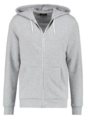 New Look Tracksuit Top Mid Grey