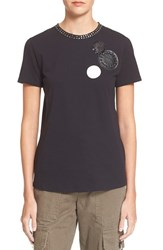 Marc By Marc Jacobs Women's Marc Jacobs Embellished Cotton Tee
