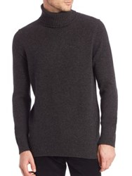 Vince Featherweight Wool And Cashmere Blend Sweater H Shadow