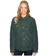 Royal Robbins Foxtail Fleece Shirt Jack Spruce Women's Fleece Green