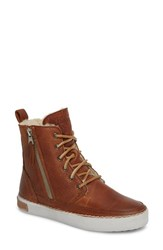 Blackstone 'S 'Cw96' Genuine Shearling Lined Sneaker Boot Cuoio Leather