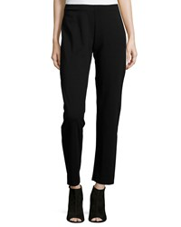 Eileen Fisher Heavyweight Rayon Skinny Pants Black
