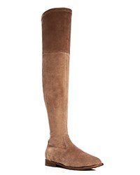 Gentle Souls Emma Over The Knee Boots Almond