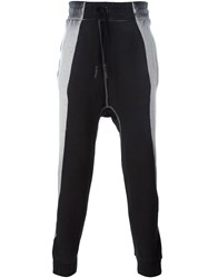 11 By Boris Bidjan Saberi Two Tone Sweatpants Black