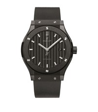 Hublot Classic Fusion 42Mm Black Magic Ceramic Watch Unisex