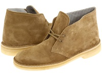 Clarks Desert Boot Oakwood Suede Men's Lace Up Boots Beige