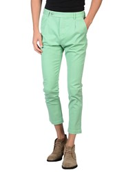Daniele Fiesoli Trousers Casual Trousers Men Light Green