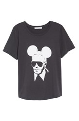 South Parade Women's Karl Mouse Tee Black