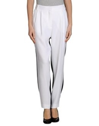 Gaetano Navarra Casual Pants White