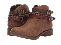 Blowfish Vianna Tobacco Spindal Dyecut Snake Charmer Pull On Boots Brown