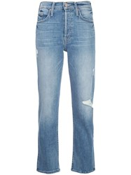 Mother Rosie High Rise Straight Jeans 60