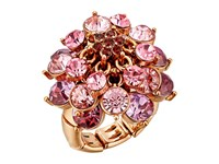 Betsey Johnson Fall Follies Flower Ring Multi Ring